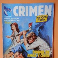 Cómics: CRIMEN. RELATOS GRÁFICOS PARA ADULTOS. Nº 12 - DIVERSOS AUTORES. Lote 46031709