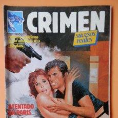 Cómics: CRIMEN. RELATOS GRÁFICOS PARA ADULTOS. Nº 14 - DIVERSOS AUTORES. Lote 46031711