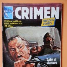 Cómics: CRIMEN. RELATOS GRÁFICOS PARA ADULTOS. Nº 15 - DIVERSOS AUTORES. Lote 46031712