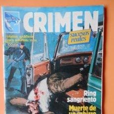 Cómics: CRIMEN. RELATOS GRÁFICOS PARA ADULTOS. Nº 16 - DIVERSOS AUTORES. Lote 46031723