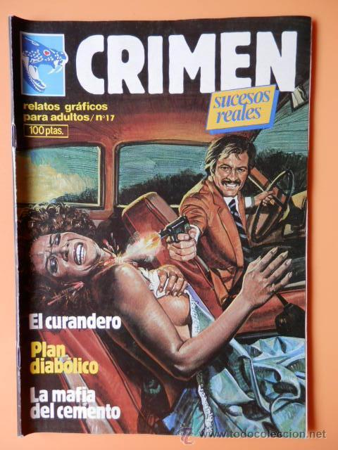 CRIMEN. RELATOS GRÁFICOS PARA ADULTOS. Nº 17 - DIVERSOS AUTORES (Tebeos y Comics - Zinco - Otros)