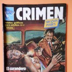 Cómics: CRIMEN. RELATOS GRÁFICOS PARA ADULTOS. Nº 17 - DIVERSOS AUTORES. Lote 46031724
