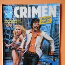 Cómics: CRIMEN. RELATOS GRÁFICOS PARA ADULTOS. Nº 18 - DIVERSOS AUTORES. Lote 46031725