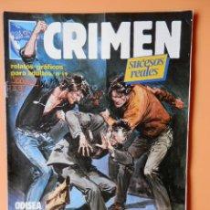 Cómics: CRIMEN. RELATOS GRÁFICOS PARA ADULTOS. Nº 19 - DIVERSOS AUTORES. Lote 46031726