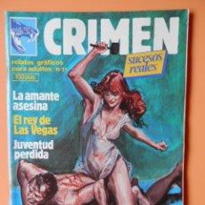 Cómics: CRIMEN. RELATOS GRÁFICOS PARA ADULTOS. Nº 21 - DIVERSOS AUTORES. Lote 46031741