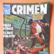 Cómics: CRIMEN. RELATOS GRÁFICOS PARA ADULTOS. Nº 22 - DIVERSOS AUTORES. Lote 46031742