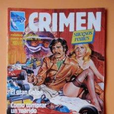 Cómics: CRIMEN. RELATOS GRÁFICOS PARA ADULTOS. Nº 23 - DIVERSOS AUTORES. Lote 46031744