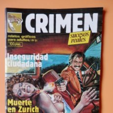 Cómics: CRIMEN. RELATOS GRÁFICOS PARA ADULTOS. Nº 31 - DIVERSOS AUTORES. Lote 46031784