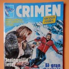 Cómics: CRIMEN. RELATOS GRÁFICOS PARA ADULTOS. Nº 32 - DIVERSOS AUTORES. Lote 46031786
