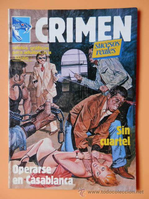 CRIMEN. RELATOS GRÁFICOS PARA ADULTOS. Nº 38 - DIVERSOS AUTORES (Tebeos y Comics - Zinco - Otros)
