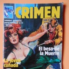 Cómics: CRIMEN. RELATOS GRÁFICOS PARA ADULTOS. Nº 39 - DIVERSOS AUTORES. Lote 46031816