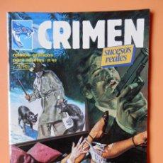 Cómics: CRIMEN. RELATOS GRÁFICOS PARA ADULTOS. Nº 40 - DIVERSOS AUTORES. Lote 46031818