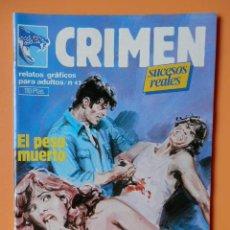Cómics: CRIMEN. RELATOS GRÁFICOS PARA ADULTOS. Nº 42 - DIVERSOS AUTORES. Lote 46031839