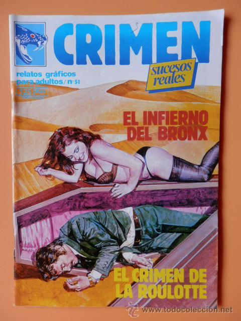 CRIMEN. RELATOS GRÁFICOS PARA ADULTOS. Nº 51 - DIVERSOS AUTORES (Tebeos y Comics - Zinco - Otros)