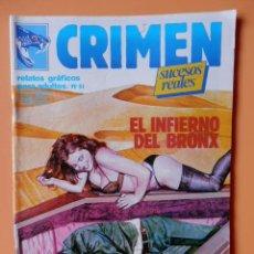 Cómics: CRIMEN. RELATOS GRÁFICOS PARA ADULTOS. Nº 51 - DIVERSOS AUTORES. Lote 46031883