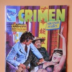 Cómics: CRIMEN. RELATOS GRÁFICOS PARA ADULTOS. Nº 53 - DIVERSOS AUTORES. Lote 46031885