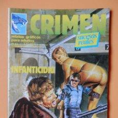 Cómics: CRIMEN. RELATOS GRÁFICOS PARA ADULTOS. Nº 56 - DIVERSOS AUTORES. Lote 46031887