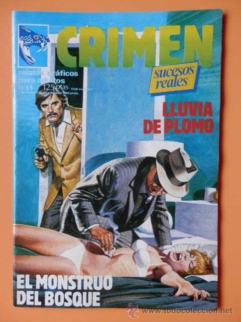CRIMEN. RELATOS GRÁFICOS PARA ADULTOS. Nº 59 - DIVERSOS AUTORES (Tebeos y Comics - Zinco - Otros)
