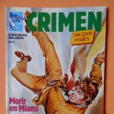 Cómics: CRIMEN. RELATOS GRÁFICOS PARA ADULTOS. Nº 62 - DIVERSOS AUTORES. Lote 46031926