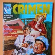 Cómics: CRIMEN. RELATOS GRÁFICOS PARA ADULTOS. Nº 63 - DIVERSOS AUTORES. Lote 46031927