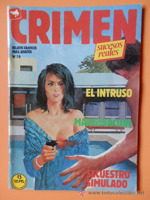 CRIMEN. RELATOS GRÁFICOS PARA ADULTOS. Nº 70 - DIVERSOS AUTORES (Tebeos y Comics - Zinco - Otros)