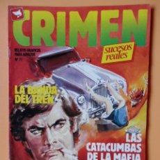 Cómics: CRIMEN. RELATOS GRÁFICOS PARA ADULTOS. Nº 71 - DIVERSOS AUTORES. Lote 46031950