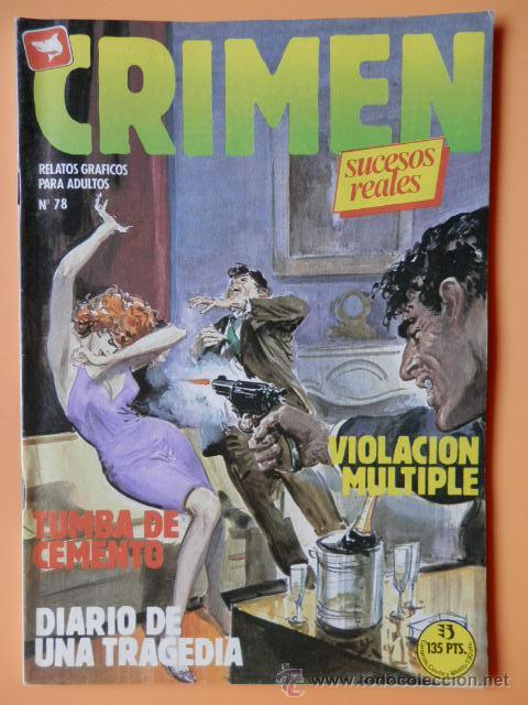 CRIMEN. RELATOS GRÁFICOS PARA ADULTOS. Nº 78 - DIVERSOS AUTORES (Tebeos y Comics - Zinco - Otros)
