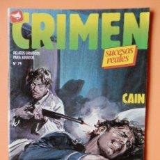 Cómics: CRIMEN. RELATOS GRÁFICOS PARA ADULTOS. Nº 79 - DIVERSOS AUTORES. Lote 46031970