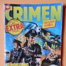 Cómics: CRIMEN. RELATOS GRÁFICOS PARA ADULTOS. Nº 1 EXTRA - DIVERSOS AUTORES. Lote 46031977