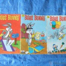 Cómics: 3 COMICS BUGS BUNNY LOONEY TUNES - ZINCO 1987. Lote 46336385