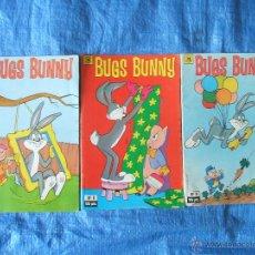 Cómics: 3 COMICS BUGS BUNNY LOONEY TUNES - ZINCO 1987. Lote 46336422