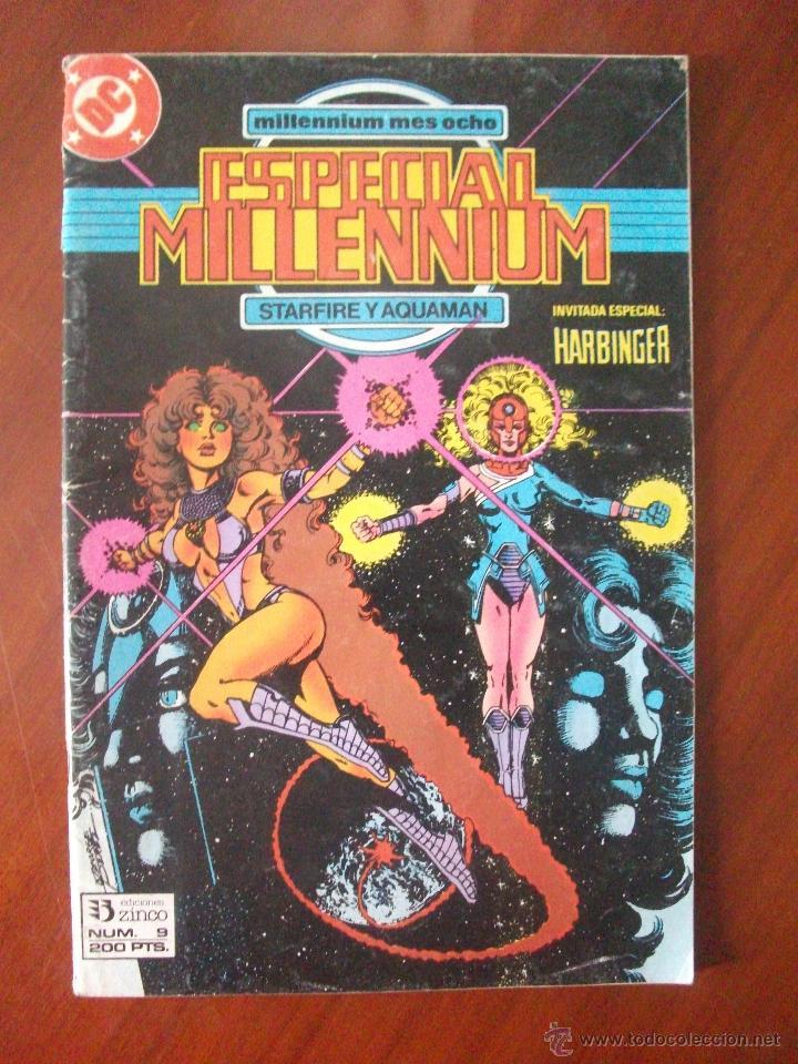 ESPECIAL MILLENNIUM Nº 9 EDICIONES ZINCO (Tebeos y Comics - Zinco - Millenium)