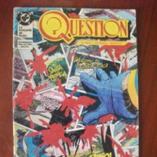 Cómics: QUESTION Nº 10 EDICIONES ZINCO. Lote 46379873