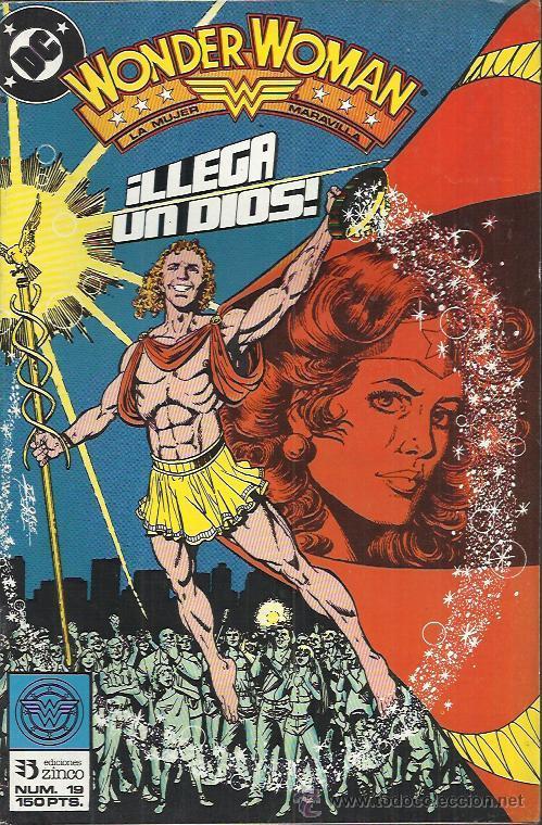 Cómics: WONDER WOMAN ( ZINCO ) ORIGINAL 1988 LOTE - Foto 16 - 33040717