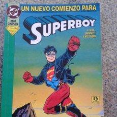 Cómics: SUPERBOY : UN NUEVO COMIENZO -- OBRA COMPLETA -- DC COMICS - EDICIONES ZINCO - 1994 --. Lote 46562579