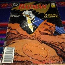 Cómics: ZINCO BATMAN Nº 1 EL ENIGMA CLAYFACE. 200 PTS. 1990. . Lote 46572830