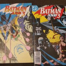 Cómics: BATMAN. AÑO 3. COMPLETA: LAS 2 PARTES. INDISPENSABLE. MUY BUEN ESTADO. Lote 46749036