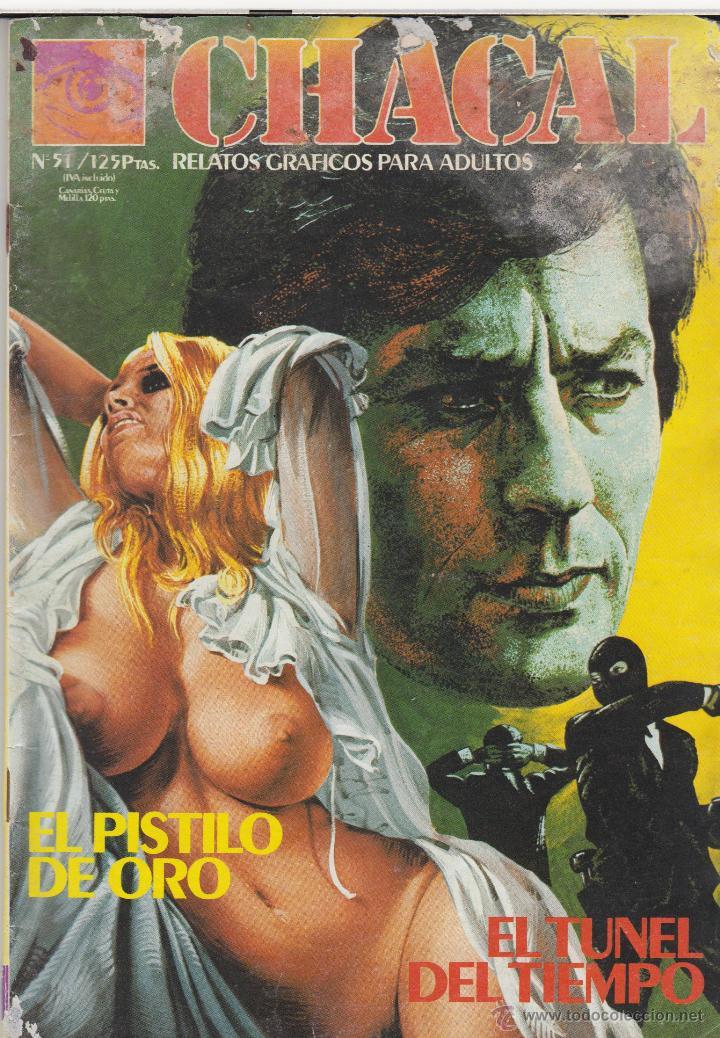 COMIC ADULTOS -CHACAL Nº 51 ED. ZINCO 1983 (Tebeos y Comics - Zinco - Otros)
