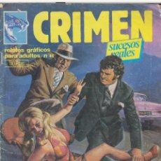 Cómics: COMIC ADULTOS -CRIMEN ( SUCESOS REALES ) Nº 44 ED. ZINCO 1981. Lote 46762311