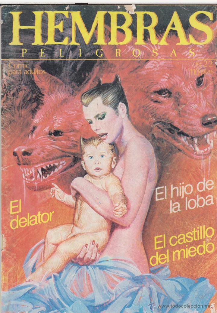 COMIC ADULTOS -HEMBRAS PELIGROSAS Nº 22. ED. ZINCO 1984 (Tebeos y Comics - Zinco - Otros)