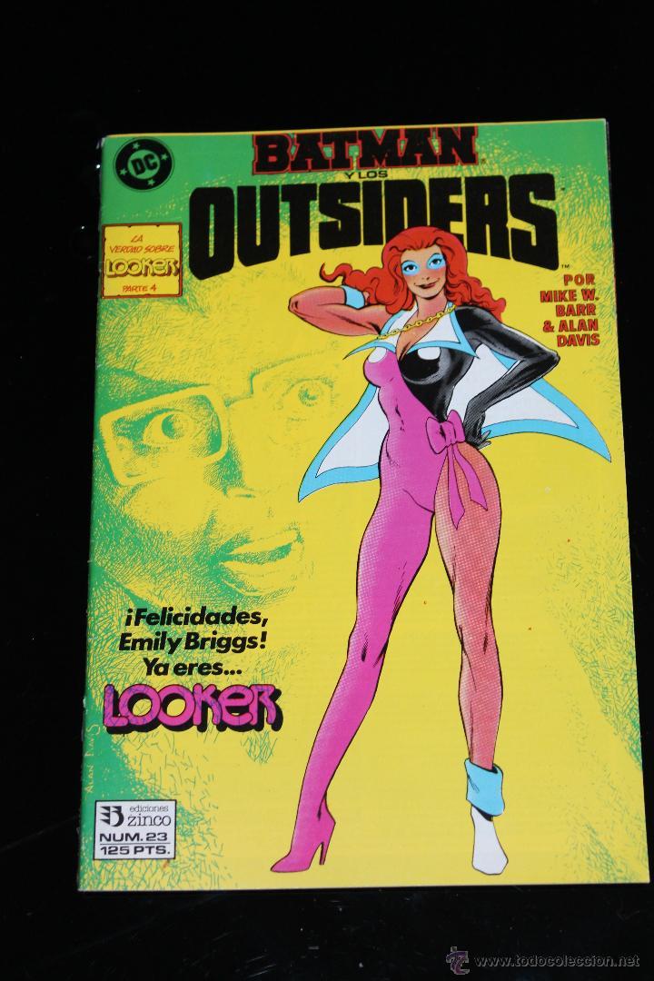 BATMAN Y LOS OUTSIDERS 23 ZINCO (Tebeos y Comics - Zinco - Outsider)