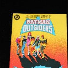 Comics : BATMAN Y LOS OUTSIDERS 24 ZINCO. Lote 46982659