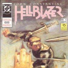 Comics: HELLBLAZER ESPECIAL # 1 (ZINCO,1991) - 68 PAGS - JAIME DELANO. Lote 46801443