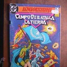 Cómics: CAMPO DE BATALLA LA TIERRA, INVASION, Nº 4, DC, ZINCO, 1990. Lote 46887304