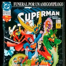 Fumetti: SUPERMAN Nº 6 / DC / ZINCO 1993 (DAN JURGENS & TOM GRUMMETT). Lote 57405260