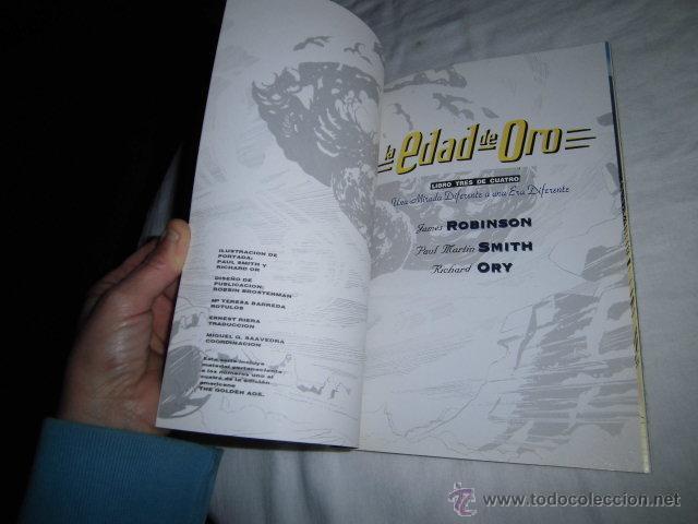 Cómics: LA EDAD DE ORO LIBRO TRES.DC COMICS.JAMES ROBINSON.PAUL SMITH,RICHARD ORY - Foto 3 - 46963625