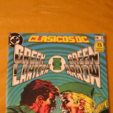 Cómics: ZINCO: CLASICOS DC. GREEN LANTERN GREEN ARROW. PERFECTO ESTADO.INDISPENSABLE.. Lote 107667610