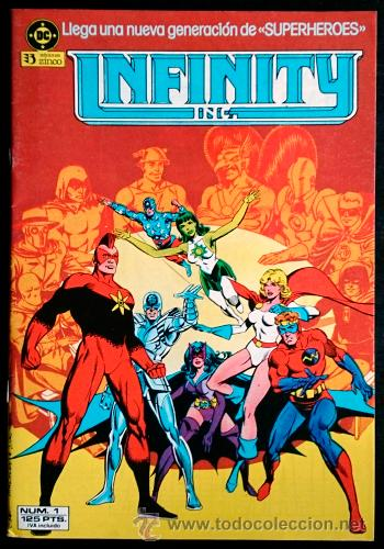 Cómics: Infinity Inc Nº 1 / DC / Zinco 1986 ( Roy Thomas & Jerry Ordway ) - Foto 1 - 47031430