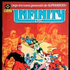 Cómics: INFINITY INC Nº 1 / DC / ZINCO 1986 ( ROY THOMAS & JERRY ORDWAY ). Lote 47031430