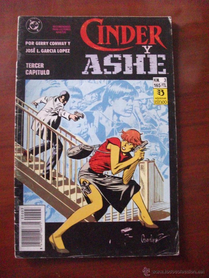 CINDER Y ASHE Nº 3 EDICIONES ZINCO C2 (Tebeos y Comics - Zinco - Otros)